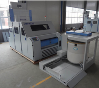 High production broad width carding machine
